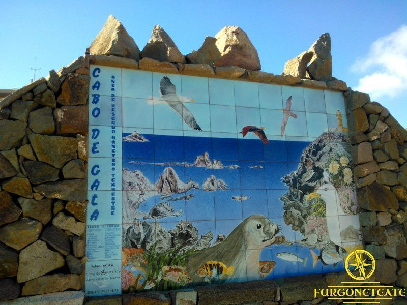 Almería información rutas pernoctas