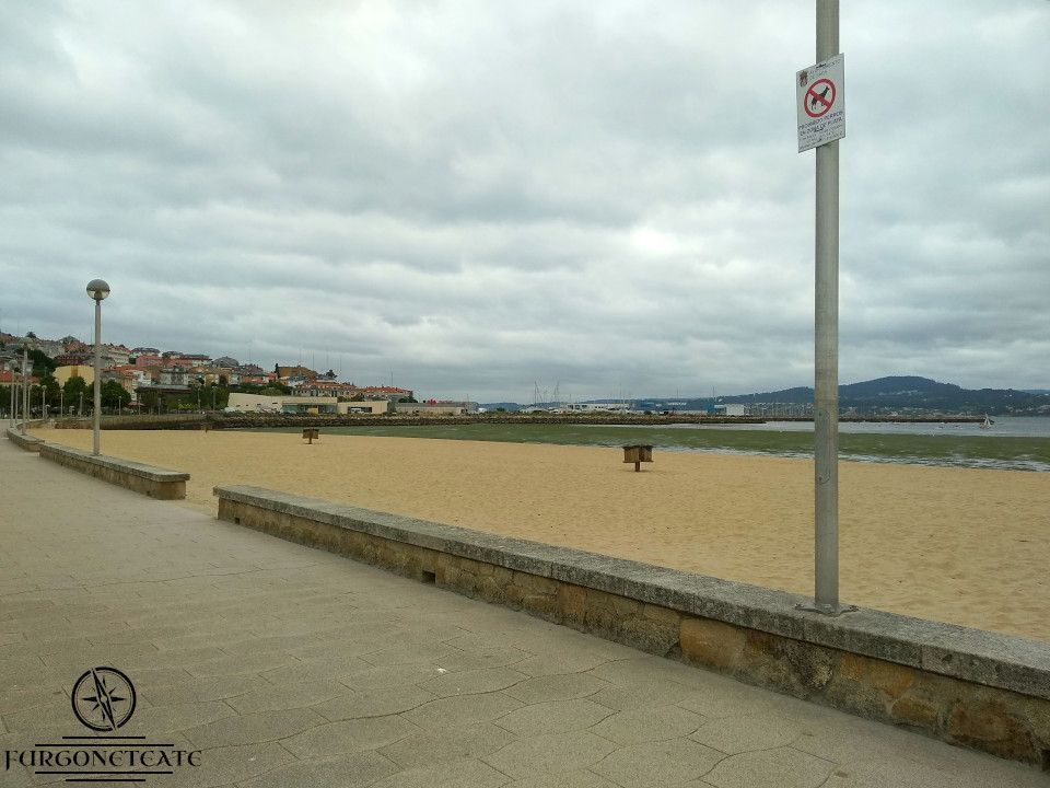 Área de Autocaravanas de Sada, Comarca de Coruña ( Coruña )